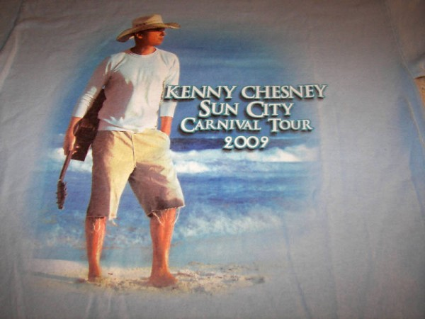 Kenny Chesney Somewhere In The Sun Tour